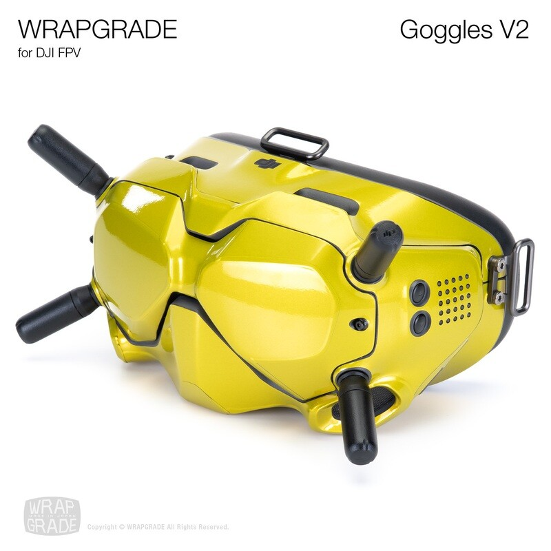 WRAPGRADE for DJI FPV   Goggles V2 [20 colors]