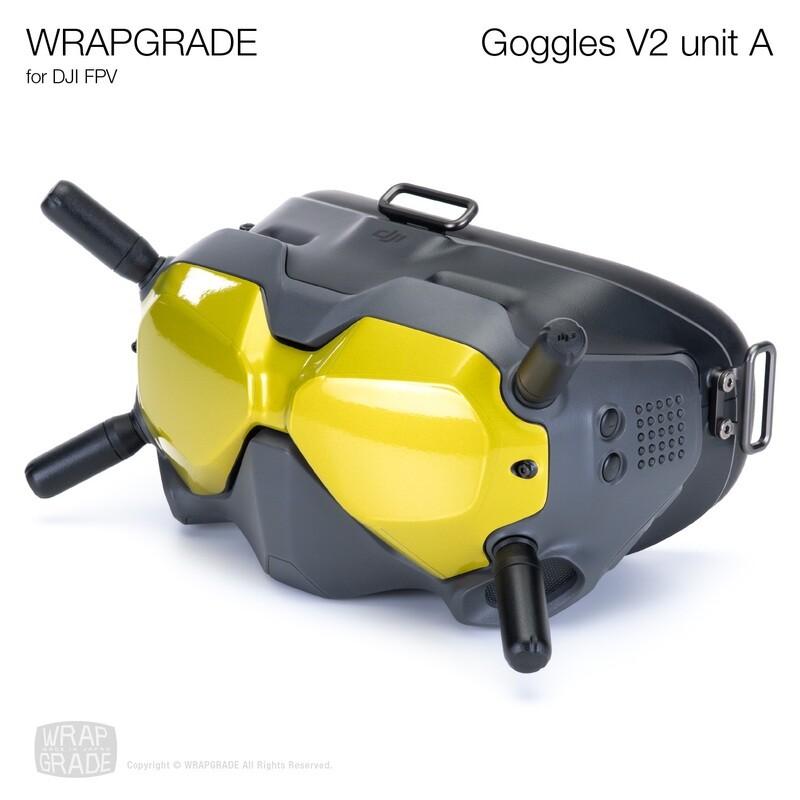 WRAPGRADE for DJI FPV   Goggles V2 Unit A [20 colors]