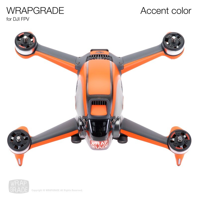 WRAPGRADE for DJI FPV   Accent color [20 colors]
