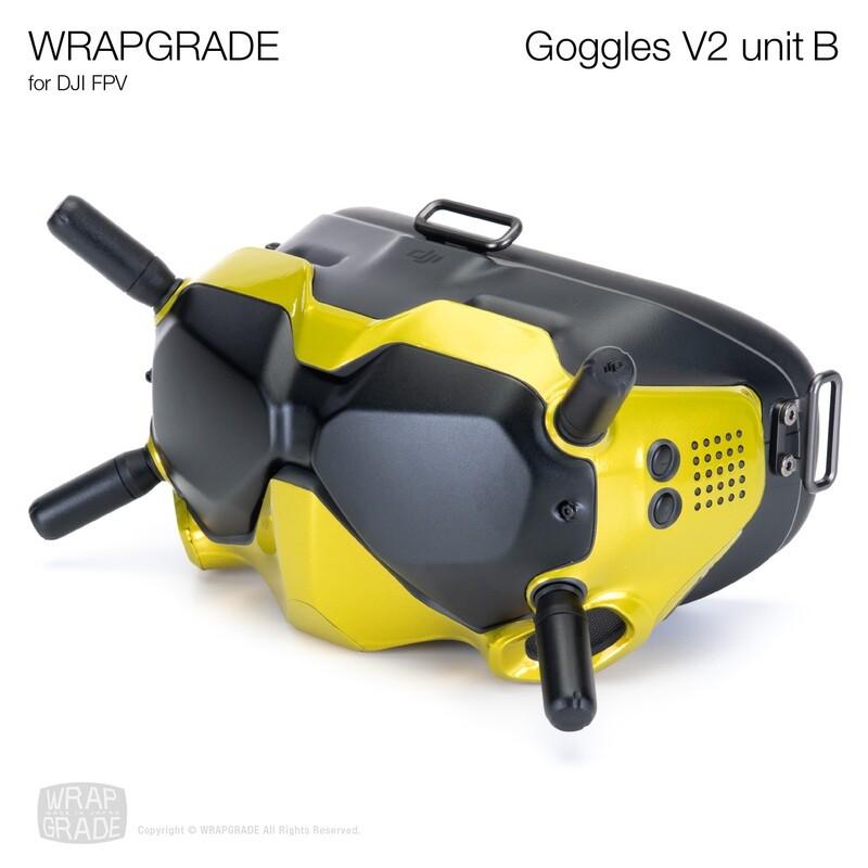 WRAPGRADE for DJI FPV   Goggles V2 Unit B [20 colors]