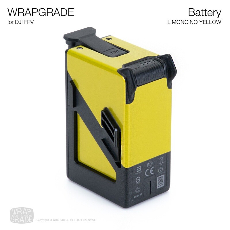 WRAPGRADE for DJI FPV   Batteries [20 colors]