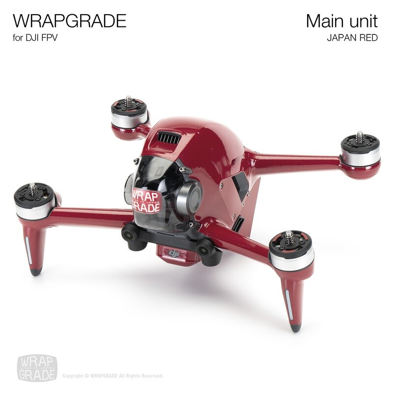 WRAPGRADE for DJI FPV   Drone (JAPAN RED)