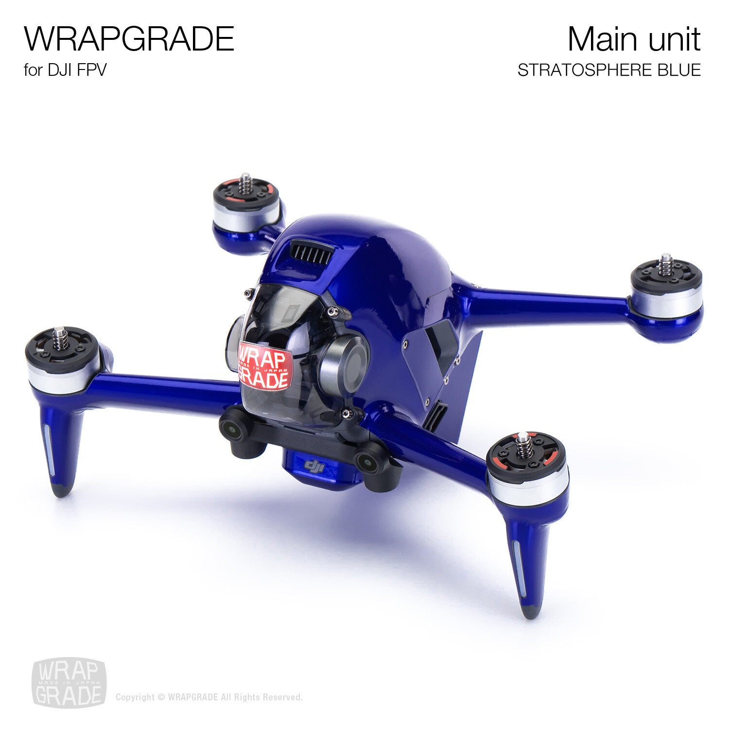WRAPGRADE for DJI FPV | Drone (STRATOSPHERE BLUE)