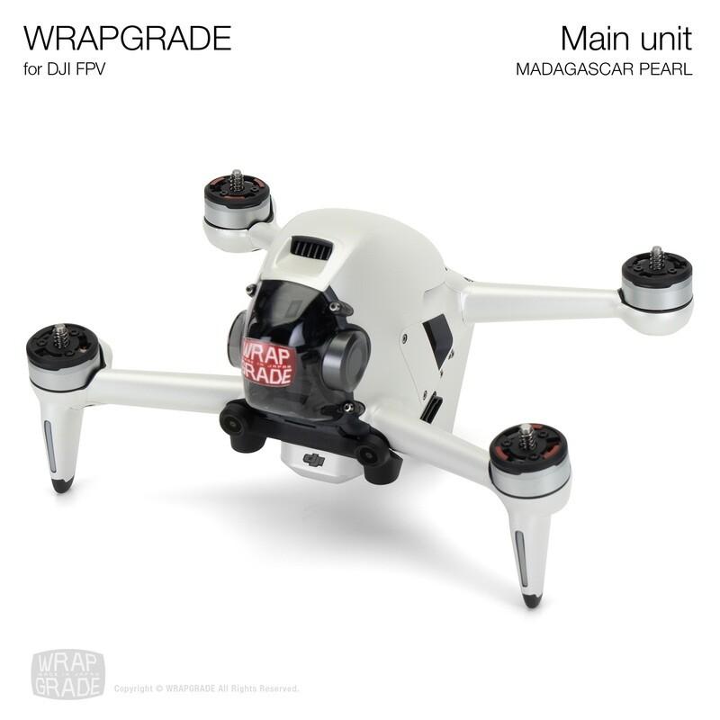 WRAPGRADE for DJI FPV   Drone (MADAGASCAR PEARL)