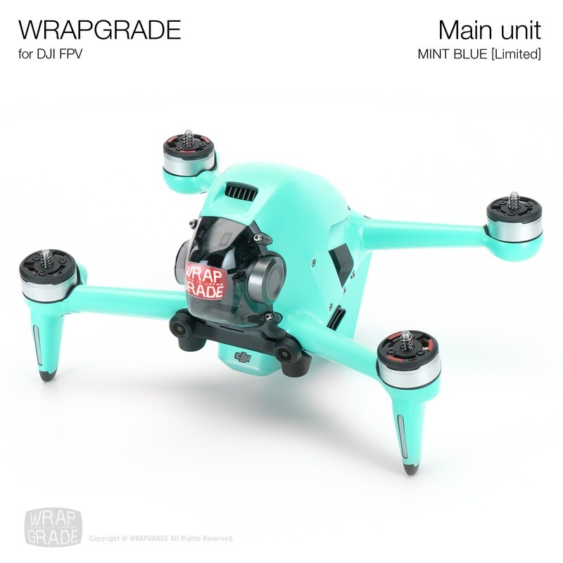 WRAPGRADE for DJI FPV   Drone (MINT BLUE)【Limited】