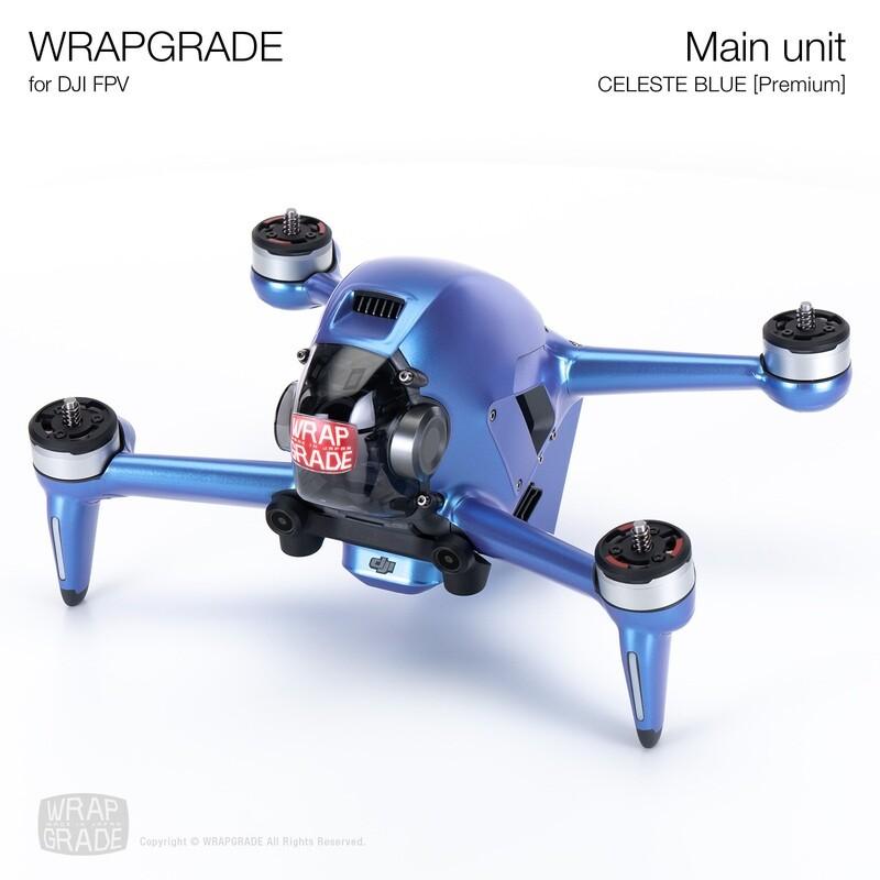 WRAPGRADE for DJI FPV   Drone (CELESTE BLUE) 【Premium】