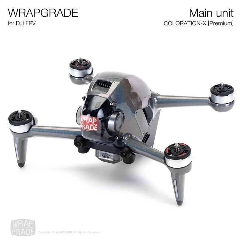 WRAPGRADE for DJI FPV   Drone (COLORATION-X) 【Premium】