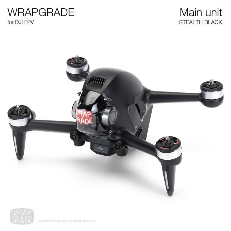 WRAPGRADE for DJI FPV   Drone ( STEALTH BLACK)