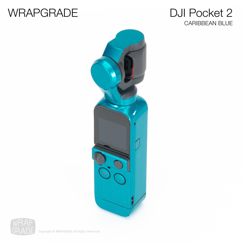 WRAPGRADE for DJI Pocket 2 (CARIBBEAN BLUE)