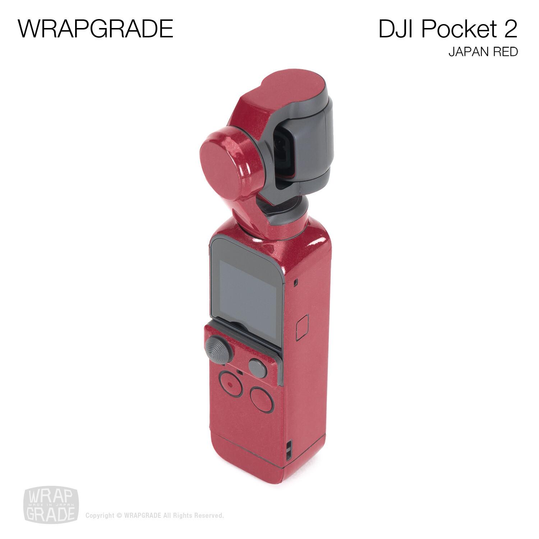 WRAPGRADE for DJI Pocket 2 (JAPAN RED)