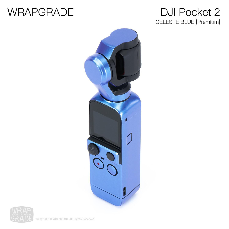 WRAPGRADE for DJI Pocket 2 (CELESTE BLUE)【Premium】
