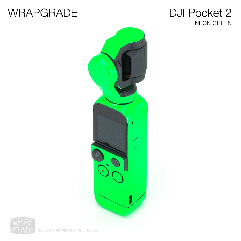 WRAPGRADE for DJI Pocket 2 (NEON GREEN)