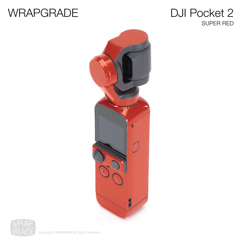 WRAPGRADE for DJI Pocket 2 (SUPER RED)