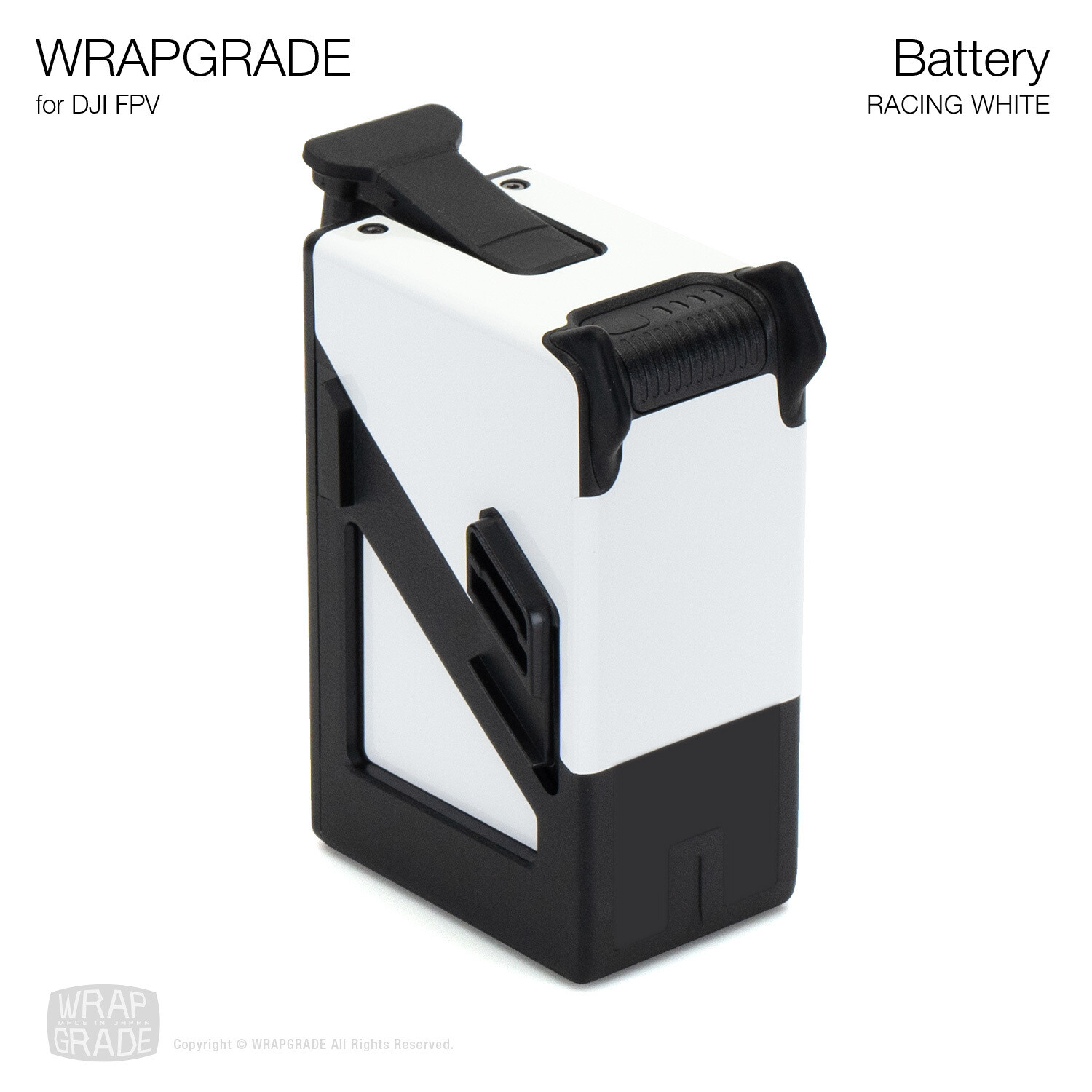 WRAPGRADE for DJI FPV | Battery [20 colors]