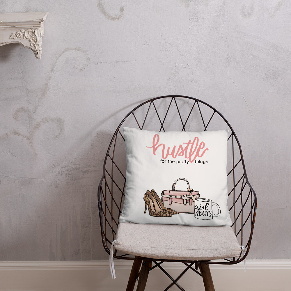 Hustle Pillow