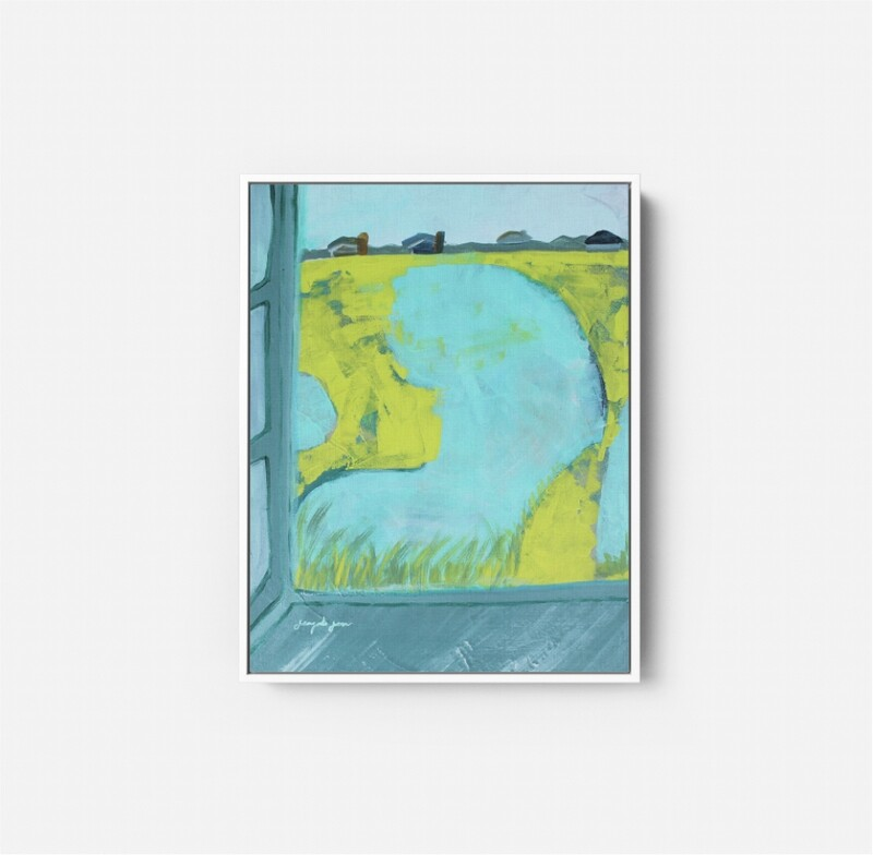 Seafoam Soirée  (16x20)