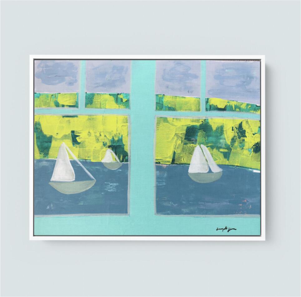 I'll Sail Away (20x24)