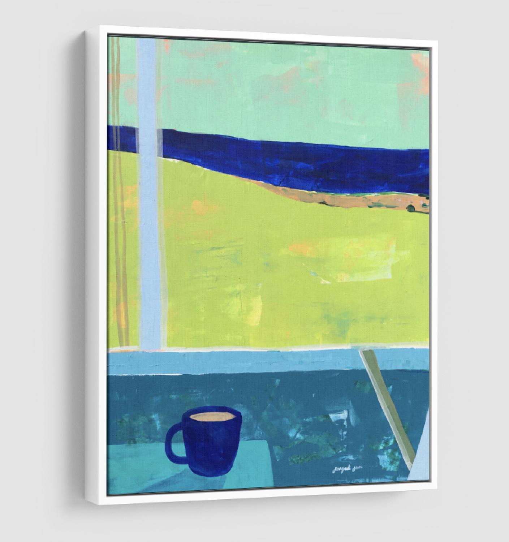 Cuffy's Coffee on the Bay (24 x 30)
