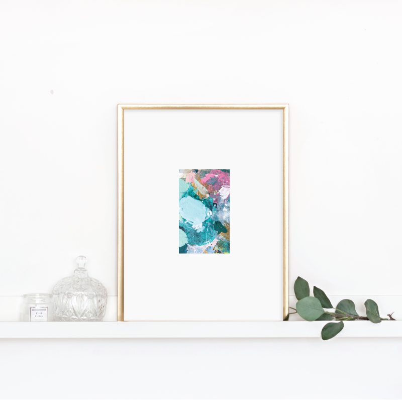 Matted Palette Print No.1