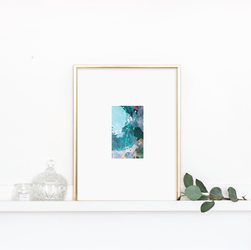 Matted Palette Print No. 2
