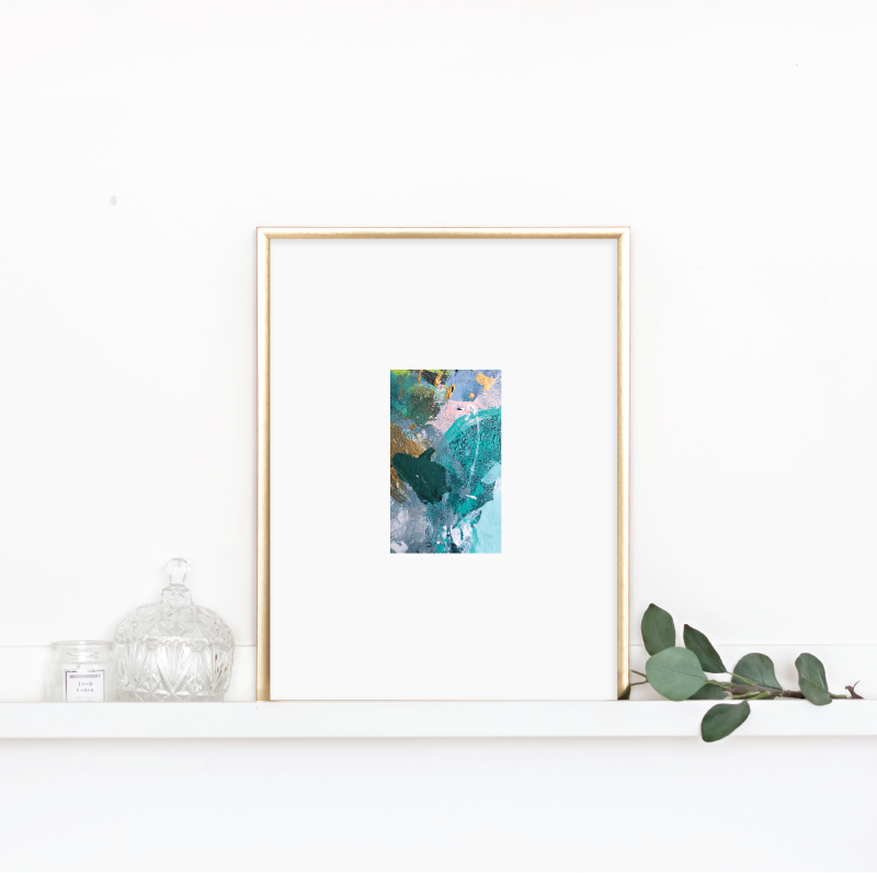 Matted Palette Print No. 5