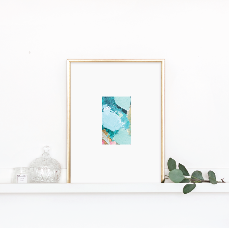Matted Palette Print No. 6