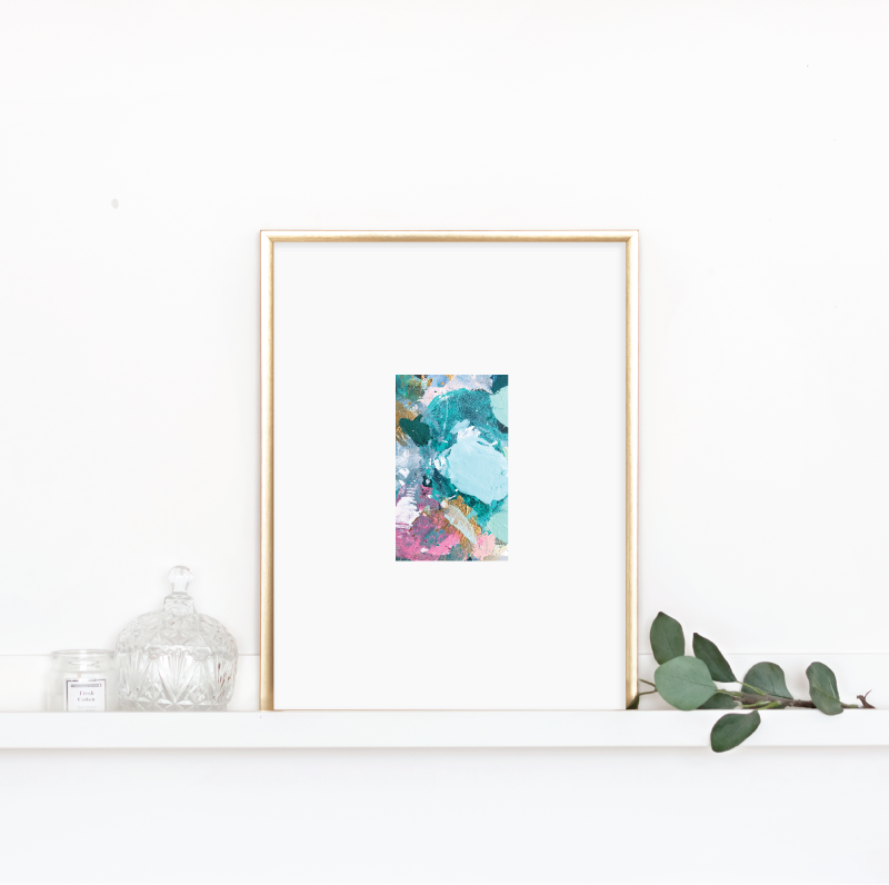 Matted Palette Print No. 3
