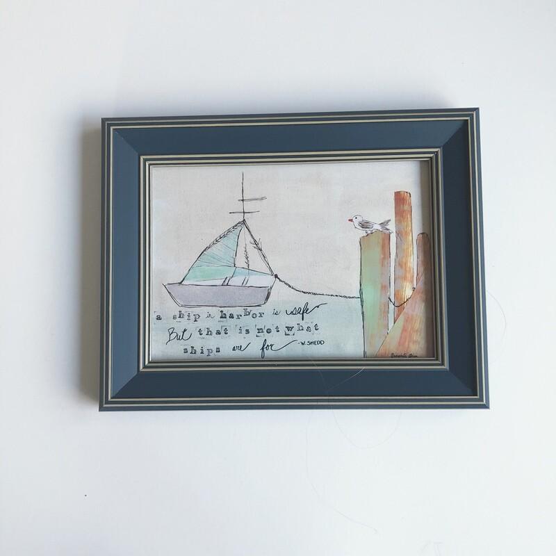 Mini Frame (5x7 Print) No. 5