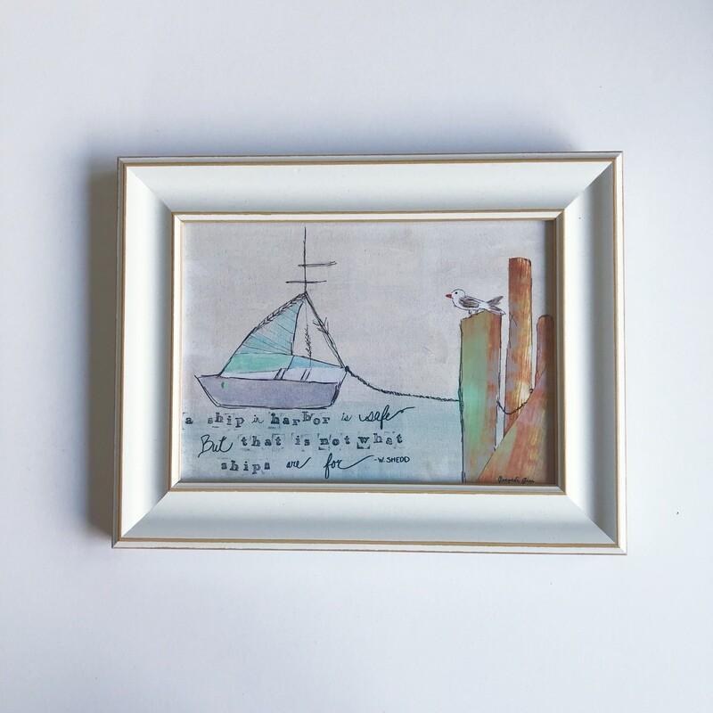 Mini Frame (5x7 Print) No. 13