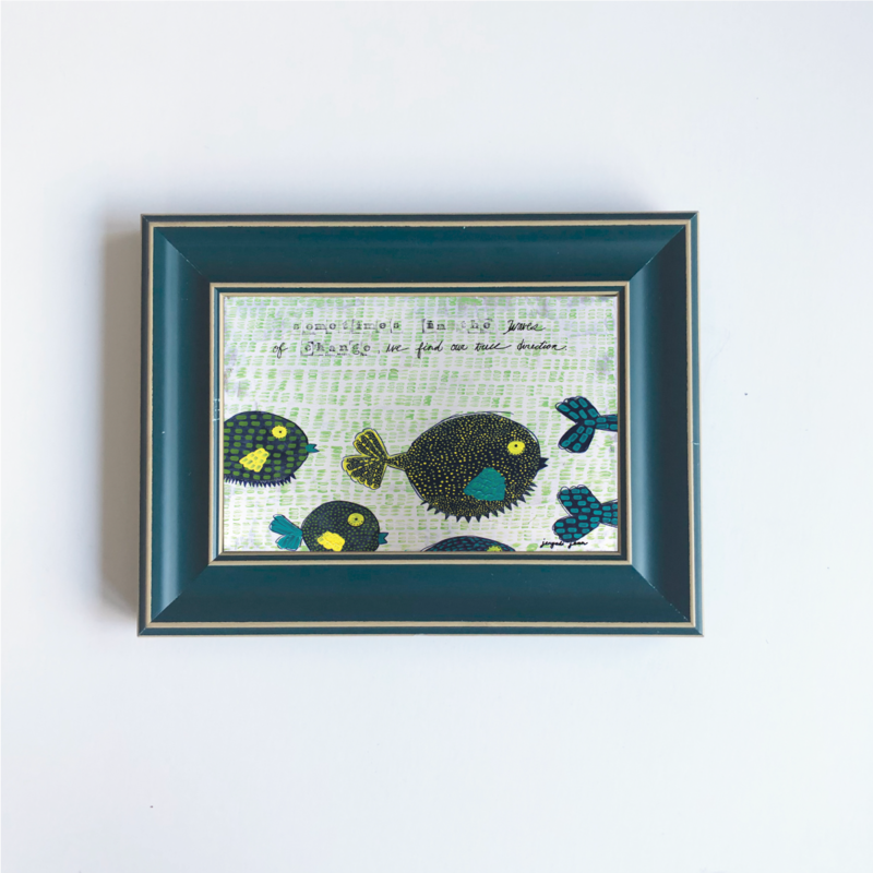 Mini Frame (4x6 Print) No. 15