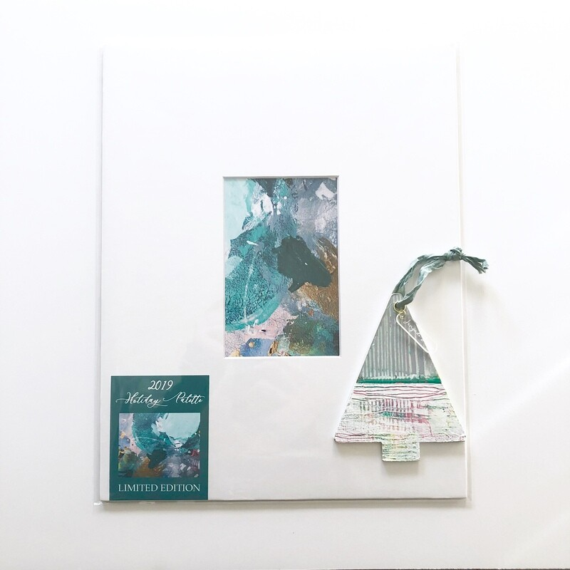 Limited Edition Matted Palette Print & Ornament (Mix & Match)