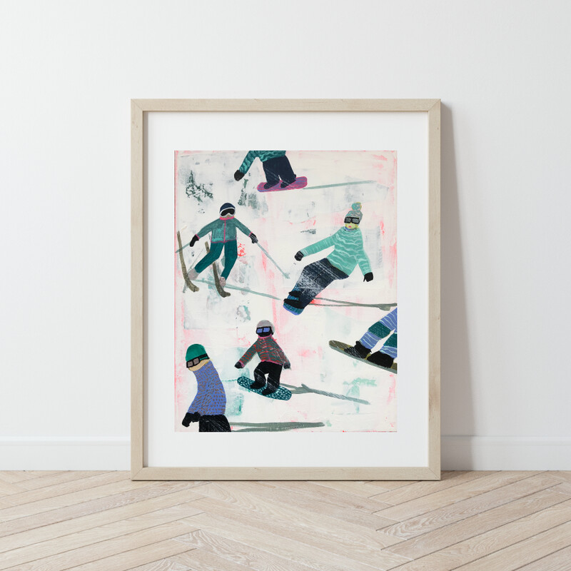 Slope Party No. 2 Print