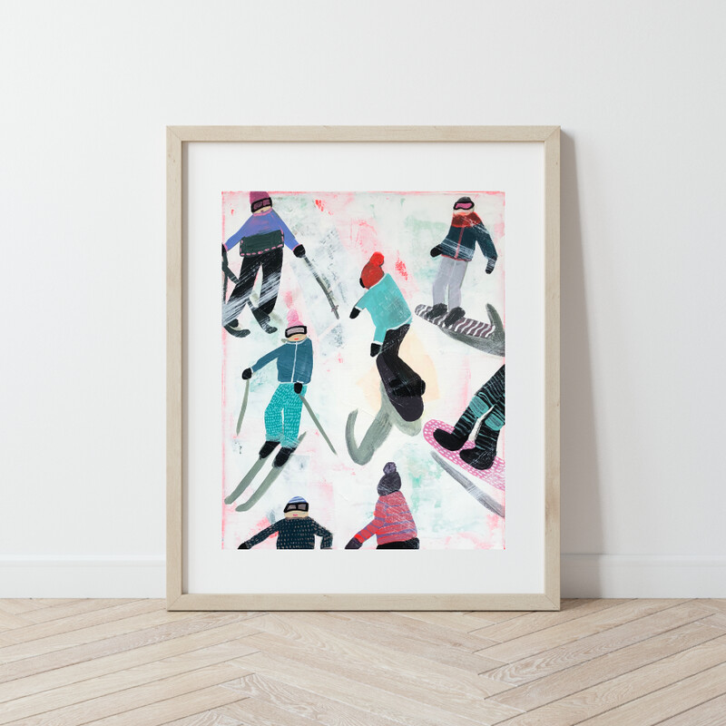 Slope Party No. 4 Print