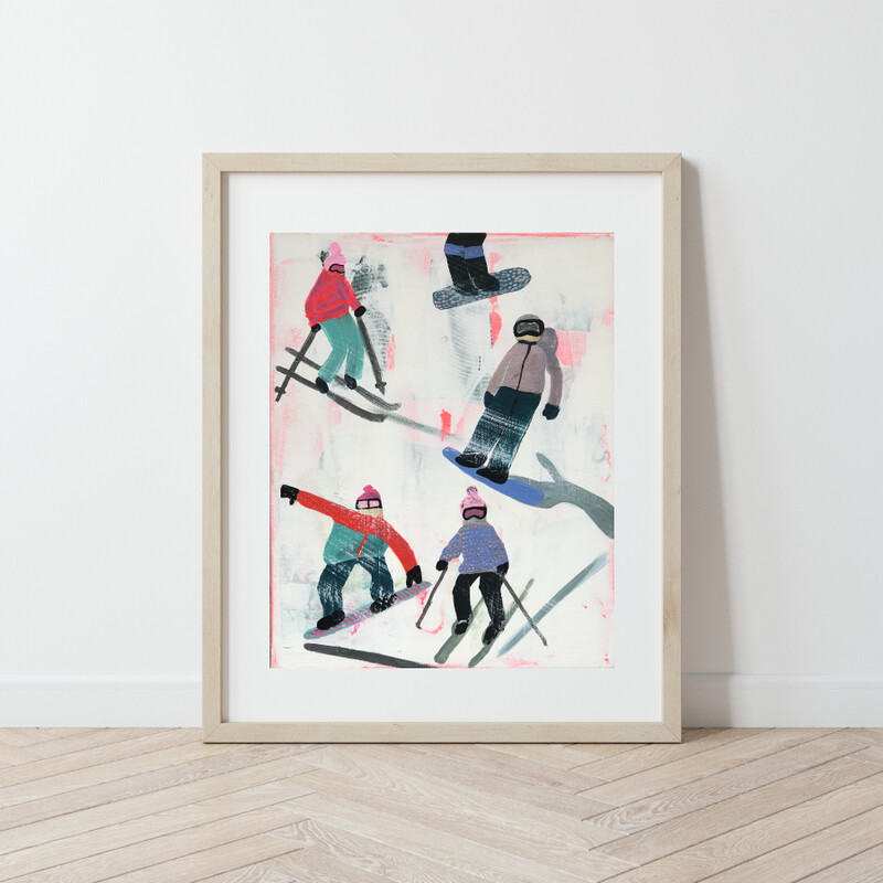 Slope Party No. 3 Print