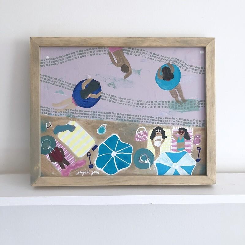 Purple Dream Team (11x14) Framed