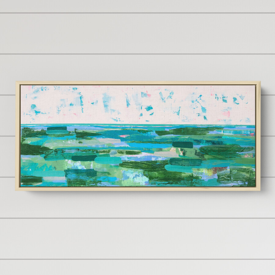 Seaweed Sunset (16 x 40)