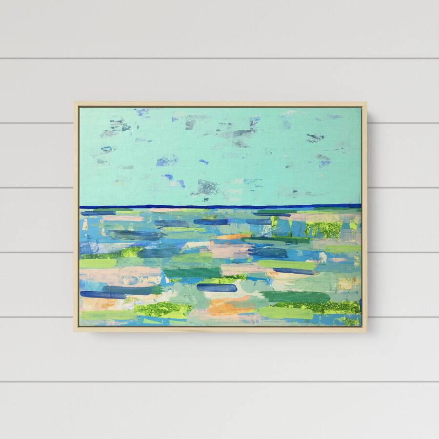 Seafoam Sea (24 x 30)