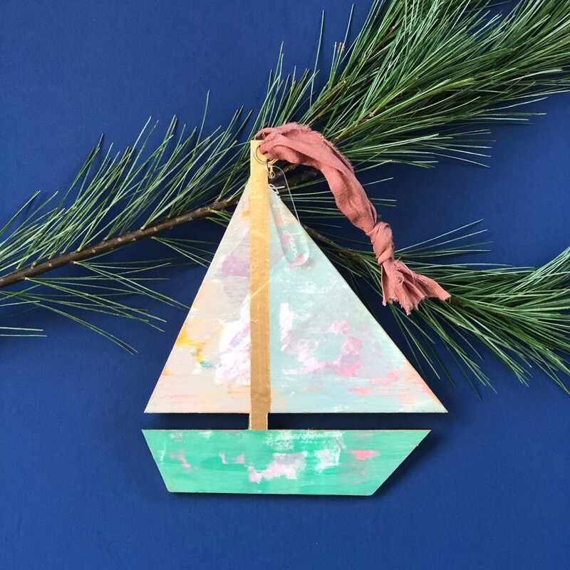 Sailboat Ornament No. 1