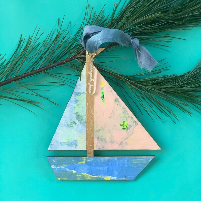 Sailboat Ornament No. 9
