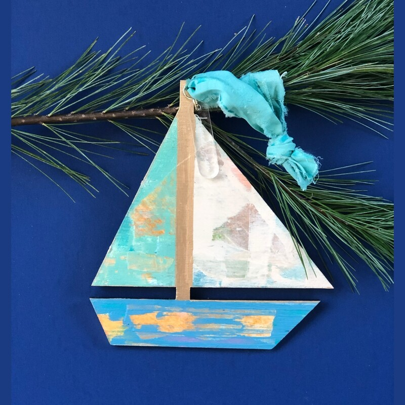 Sailboat Ornament No. 4