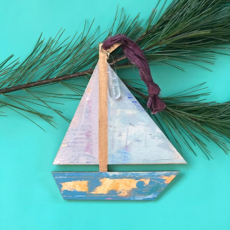 Sailboat Ornament No. 7