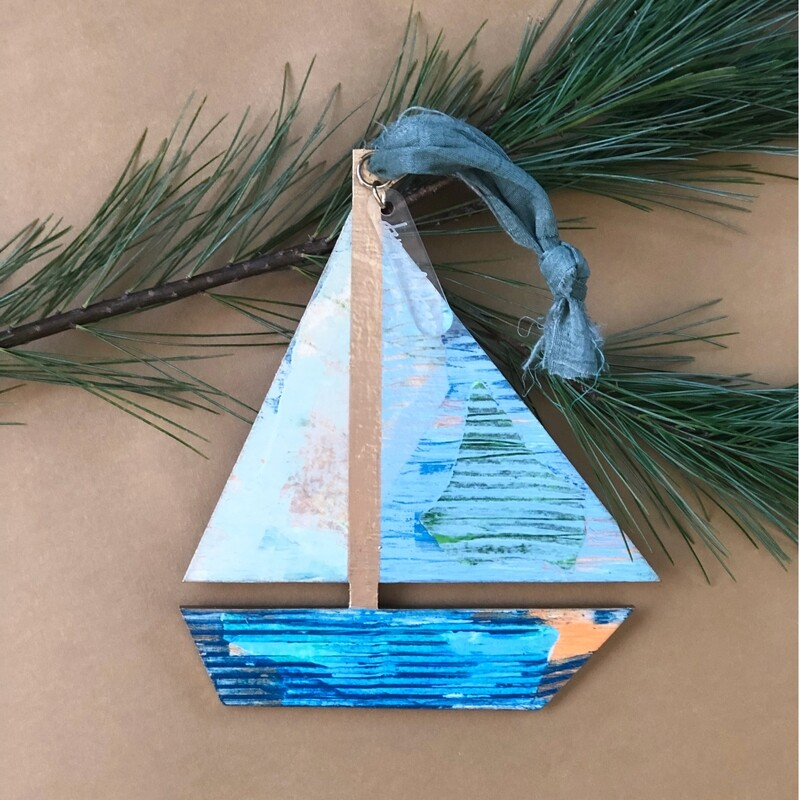 Sailboat Ornament No. 11