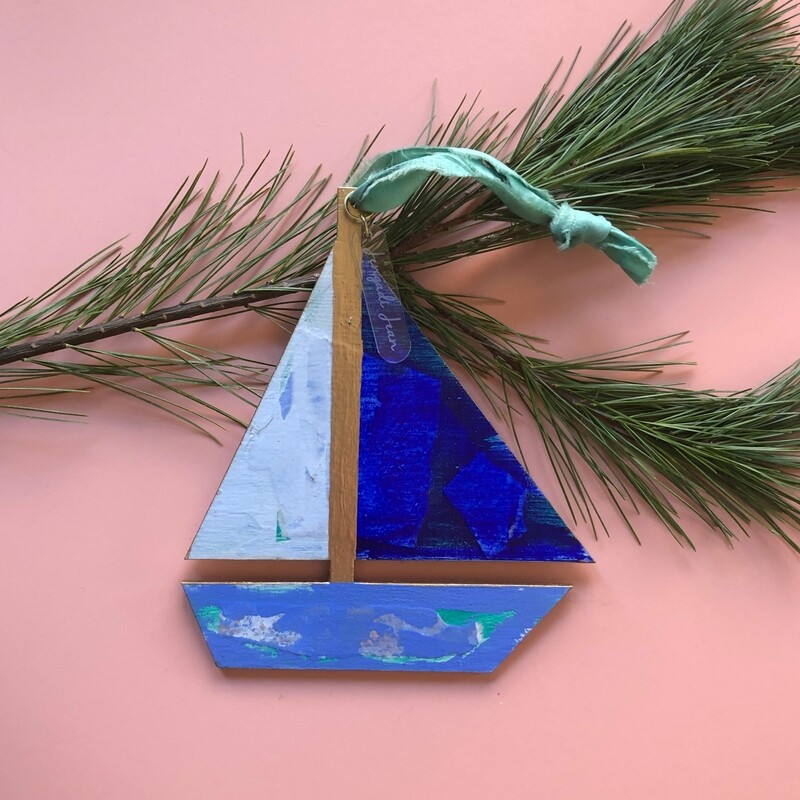 Sailboat Ornament #1