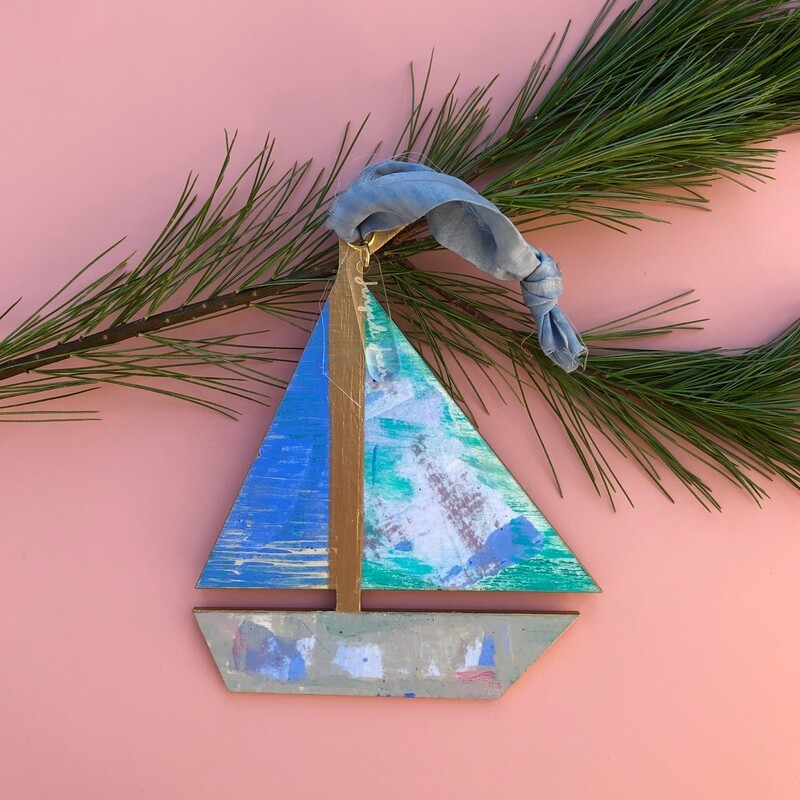 Sailboat Ornament #27