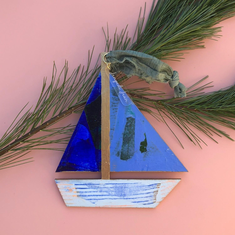Sailboat Ornament #11