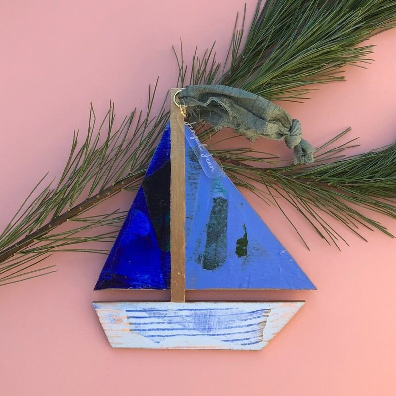 Sailboat Ornament #11