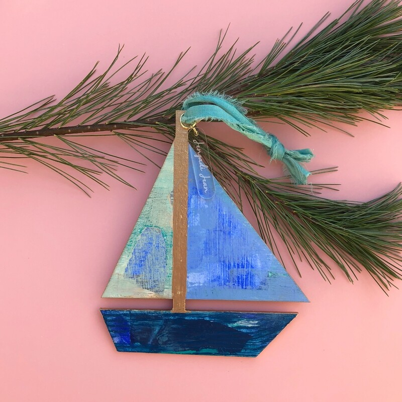 Sailboat Ornament #5