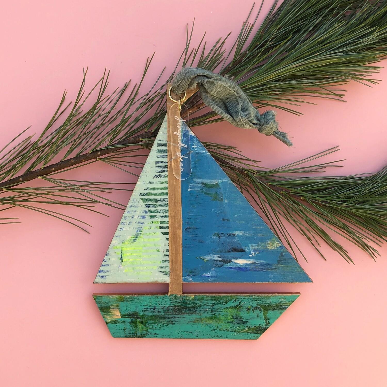 Sailboat Ornament #18