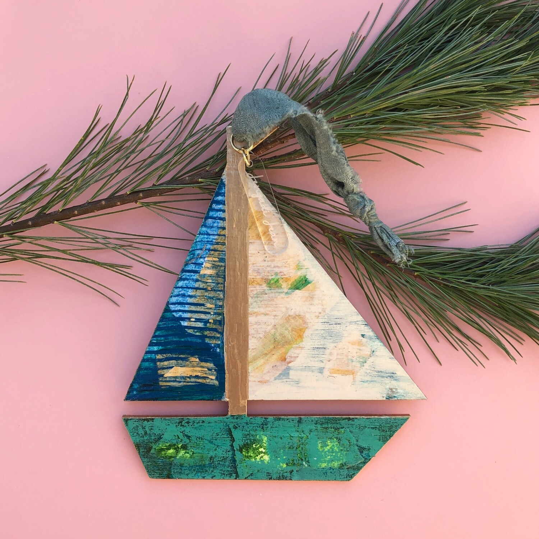 Sailboat Ornament #29