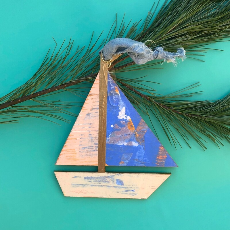 Sailboat Ornament #4